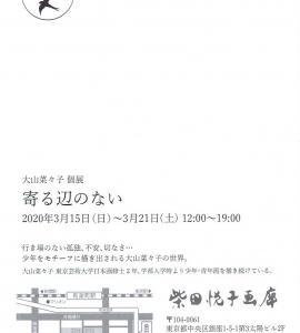 4140 柴田悦子画廊(中央区銀座1-5):大山奈々子展
