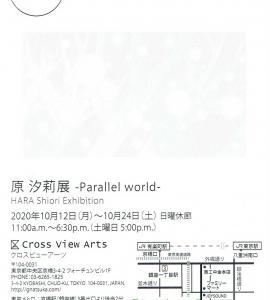 4346 ギャラリーなつか C−View(中央区京橋3-4):原汐莉展