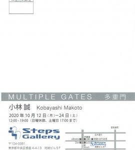 4364 StepsGallery(中央区銀座4-4):小林誠展
