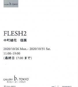 4367 GALLERY.b.TOKYO(中央区京橋3-5):中町綾花 個展