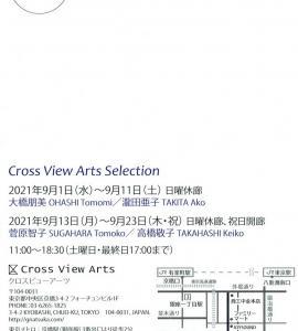 4654 ギャラリーなつか C−View(中央区京橋3-4):大橋朋美・瀧田亜子展