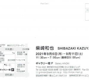 4661 ギャラリー檜 F(中央区京橋3-9):柴崎和也展