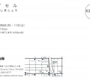 4668 藍画廊(中央区銀座1-5):康世展