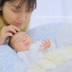 生後16日♡この冬生まれの赤ちゃん♡ニューボーンフォト撮影させていただきました