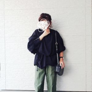 購入してきた秋ブラウス~コーデ★
