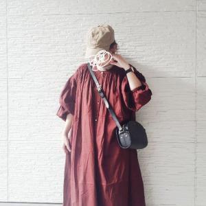購入していたドアーズの人気のワンピース~コーデ★