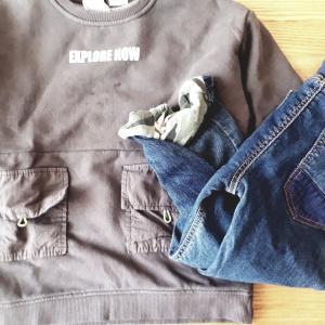 ZARAやチャオパニックティピーで購入した子供服。