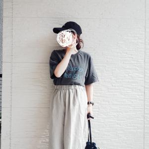 ポチした夏ワンピース。購入したTシャツコーデ★