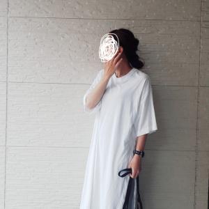 ロングTシャツコーデ★