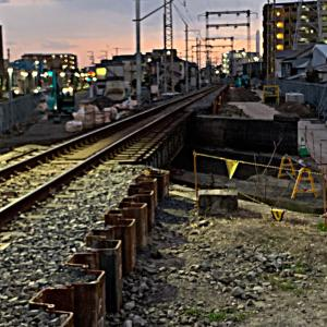 久々の鉄活動は新金貨物線を歩鉄