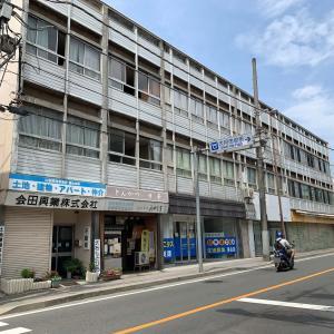 酷暑大月散策記・番外編「大月市街のR20は昭和テイスト」