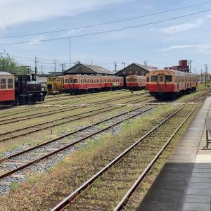 東京から50kmで会える東北・小湊鉄道