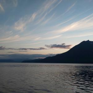 支笏湖で60cmオーバー・・・