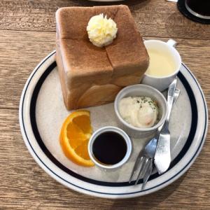 愛知県一宮市にある『CROCE(クローチェ)』で大きなサイコロトーストのモーニング食べてきました。