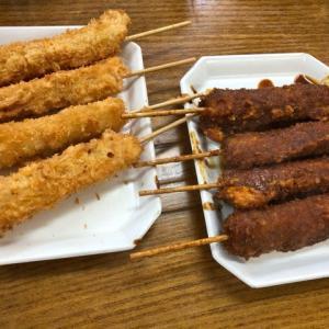 岐阜県海津市のおちょぼ稲荷にある『大黒屋』で串カツとか食べてきたよ。