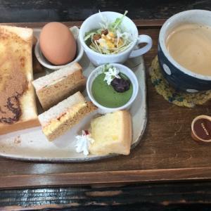 愛知県稲沢市にある『にじいろCafe』へ久々モーニングを頂きに行きました!