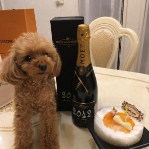 ティアラのお誕生日cake