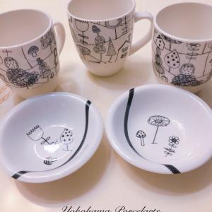 マグカップ&小皿