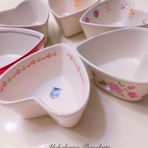 lovelyハートの小皿色々