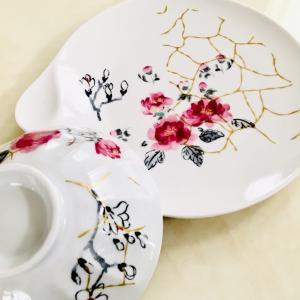 お茶碗とプレート