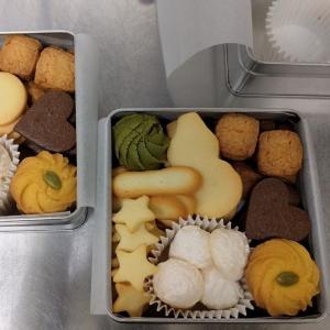 【お店売り】サンタカフェのクッキー缶