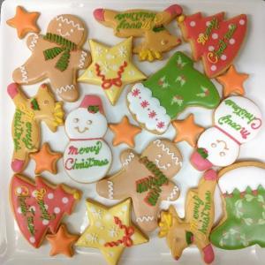 【お店売り】2019 クリスマスアイシングクッキー