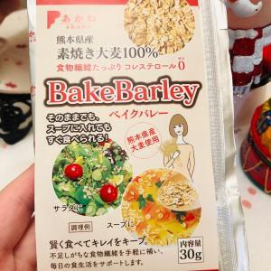 水溶性と不溶性の食物繊維が入った素焼き大麦ベイクバレーを食べてみた件