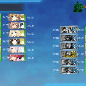 E7丙『決戦!南太平洋海戦』第一ゲージ+ギミック