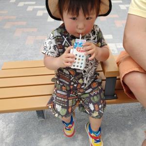 ※日曜日は近所の公園へ 1歳8ヶ月※
