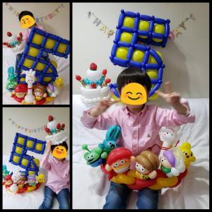 【オーダー】5歳お誕生日スペシャル