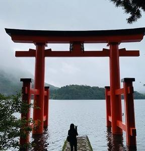 ご褒美☆芦ノ湖ハイキング