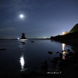 月の出~陽の出<雨晴詣で>