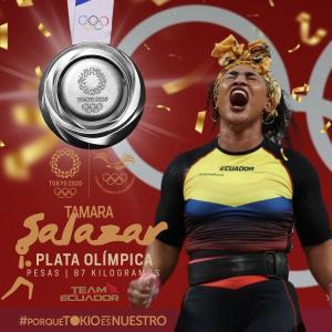 東京五輪で歴史的快挙☆エクアドルが重量挙げ女子で金&銀獲得!