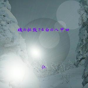 『 魂の拉致さる白の八甲田 』瘋癲老仁妄句305-01zqw0901