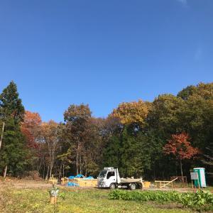 那須の平屋の「FPの家」☆型枠工事中
