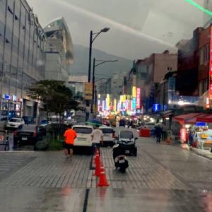 『釜山』チャガルチ市場で海の幸