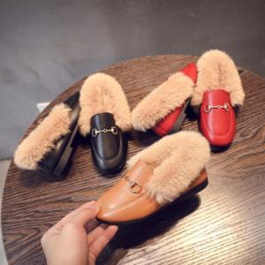 ♡韓国子供服ミルティ名東店♡ ふわふわのファーが気持ちい♪キッズシューズ☆