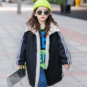 ♡韓国子供服ミルティ名東店♡ リバーシブルで使える♪ロングアウター☆