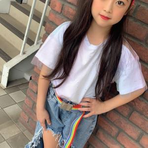 ♡韓国子供服ミルティ名東店♡ ゆずちゃま♪私服コーデをぱしゃり☆彡