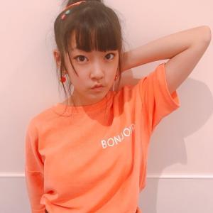 ♡韓国子供服ミルティ名東店♡ めいなちゃん着用☆彡BIGTシャツワンピ♪