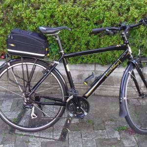 通勤自転車が盗難して半年…