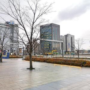 富山駅に着いたら駐車場が消えていた件