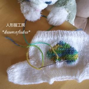 編み物始めました
