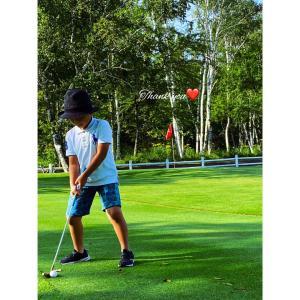 【♡ご感想&着画♡ゴルフのジュニア大会で着て頂きました】