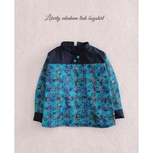 ◼️80~150cm ラウンドヨークボーイシャツ/パターン&レシピ販売開始