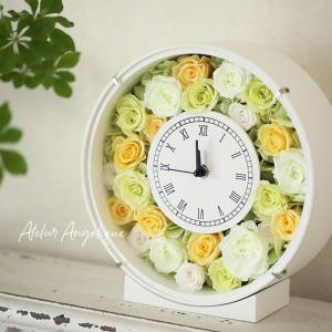ディプロマコース 花時計のプリザーブドフラワーレッスン