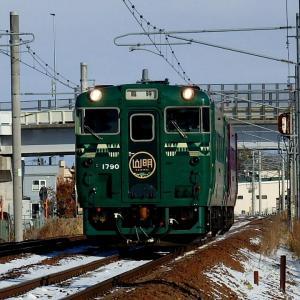 山紫水明ツアー列車と札沼線