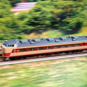 TOMIX 485系 新潟車両センター T18編成