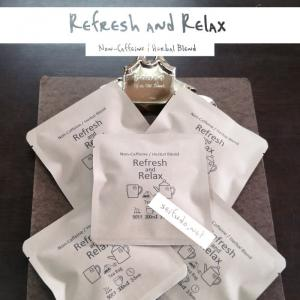Refresh and Relax ティーバッグ