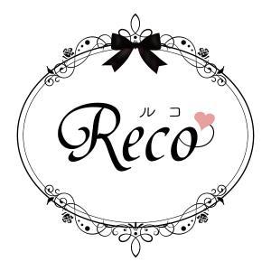 大分市 カラーサンドアート「Reco」様 ロゴデザイン♡
